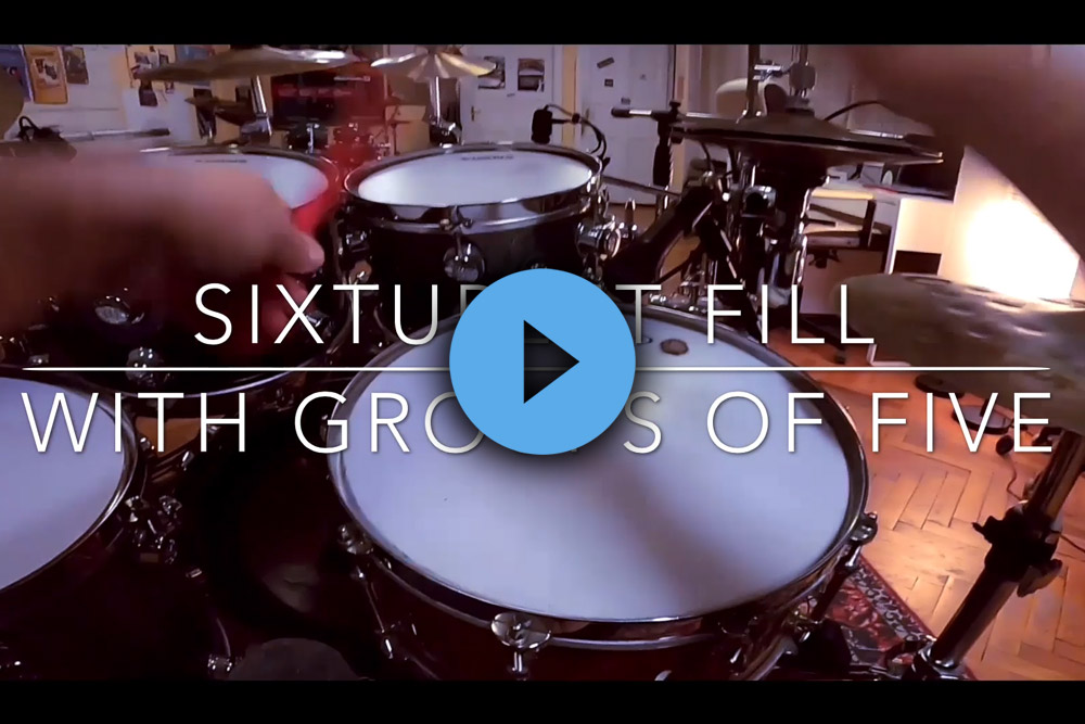 Sixtuplet Fill with groups of 5