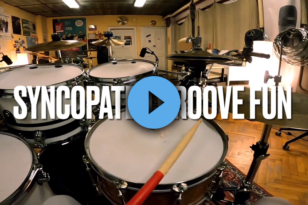 Syncopated groove
